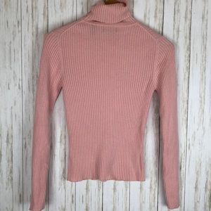 Valerie Stevens 2 Ply Cashmere Turtleneck Sweater